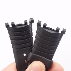 Image 5 - Watch Accessories Rubber Strap For SUUNTO Vector VECTOR Pin Buckle Mens Watch Strap