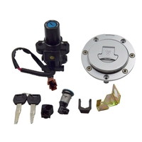 Motorcycle Ignition Switch+ Gas Cap Compatible +Key Set for Honda CBR 2004 2007 1000RR 2003 2006 600RR
