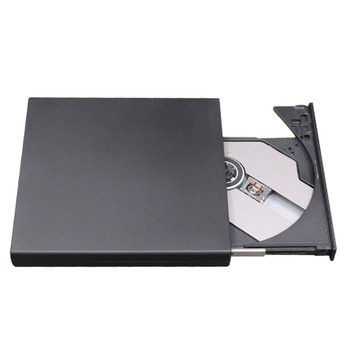 External dvd drive laptop Plug& Play External Drive USB 2.0 Burner CD+RW DVD Reader ROM CD Writer Suitable For Mac for Win7/8/10