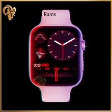 Оригинальный iwo FK99 Смарт-часы 2021 Для мужчин 1,75 дюймов GPS позиции вызовов через Bluetooth серии 6 6 для andorid телефон pk amazfit gtr