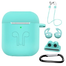 Silicone-Case Air-Pods iPhone-Accessories Waterproof for 5-In-1