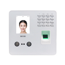 ZK BK100 TCP/IP USB Biometric Fingerprint Face  Recognition Employee  Attendance Machine Time Clock Recorder Device