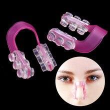 1 pçs moda nariz up shaper shaper levantamento ponte endireitamento beleza nariz clip face fitness facial clipper corrector ferramenta