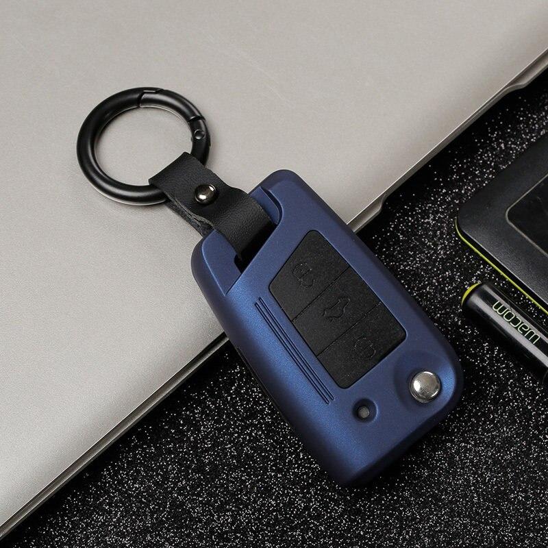 ABS Plastic+silicone Car Key Case Cover For VW Golf Bora Jetta POLO GOLF Passat Polo Golf 7 MK7 Tiguan MK2 Magotan Passat B8 A7