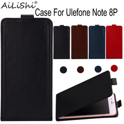 На Алиэкспресс купить чехол для смартфона ailishi case for ulefone note 8p luxury flip top quality pu leather case exclusive 100% phone protective cover skin+tracking
