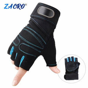 Gym Gloves Fitness Weight Lifting Gloves Body Building Training Sports Exercise Sport Workout Glove for Men Women M/L/XL #2(China)