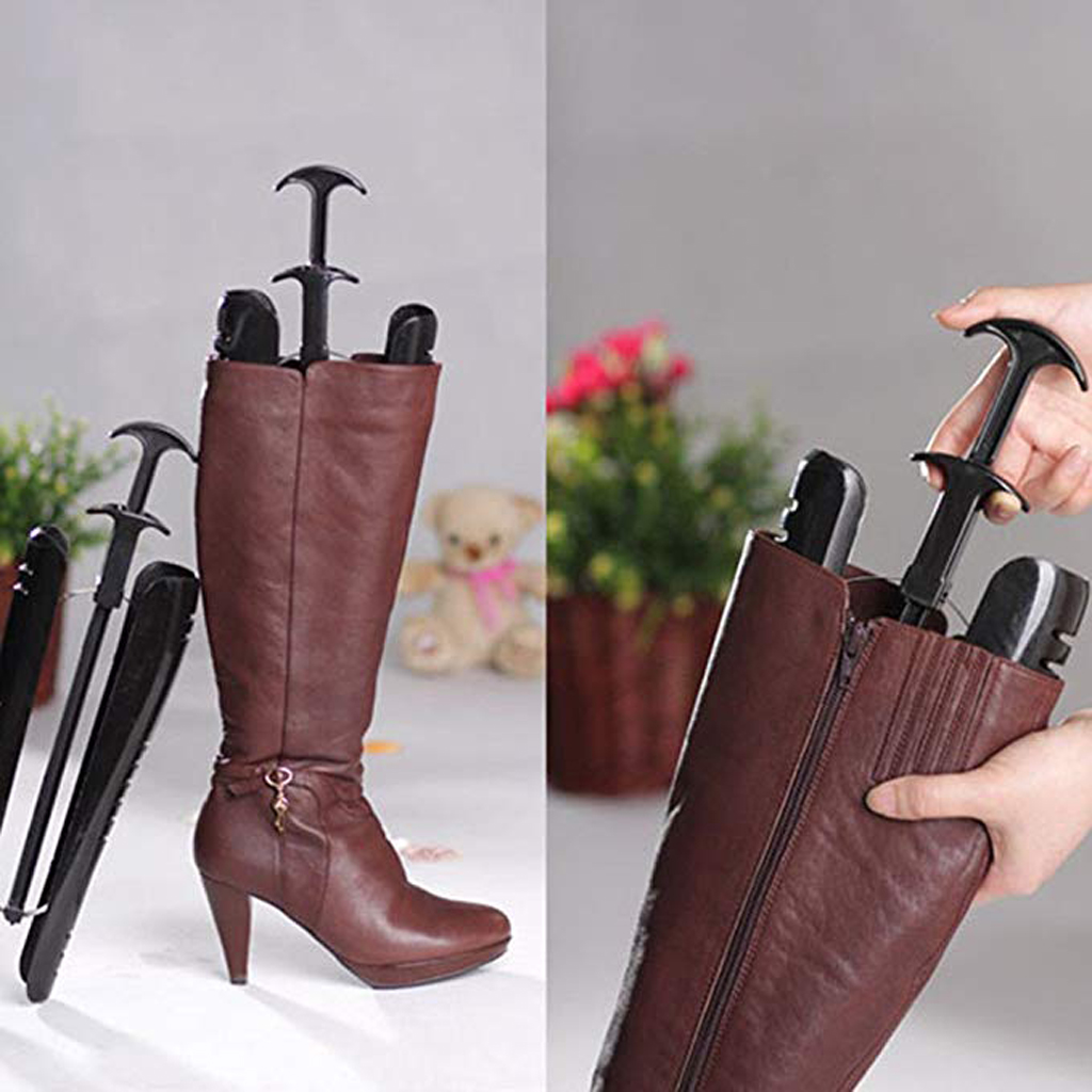 Boots Trees Women Boot Shoe Stretcher Automatic Support Organizer Shoes Stand Holder Support 29cm