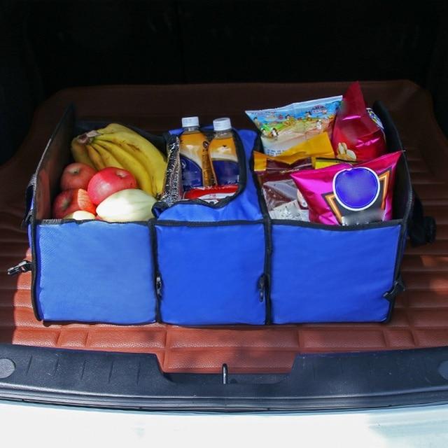 Фото lcyonger 1 шт автомобильный органайзер с карманами багажник