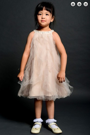 Free Shipping White Flower Girl Dresses For Weddings 2013 Champagne Communion Dress Kids Christmas Pageant Dresses For Girls