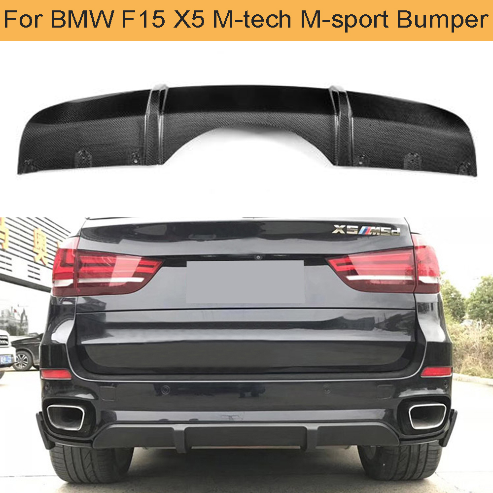 Painted ABS Color For BMW F16 F86 X6 5D SUV Performance Trunk BOOT Spoiler