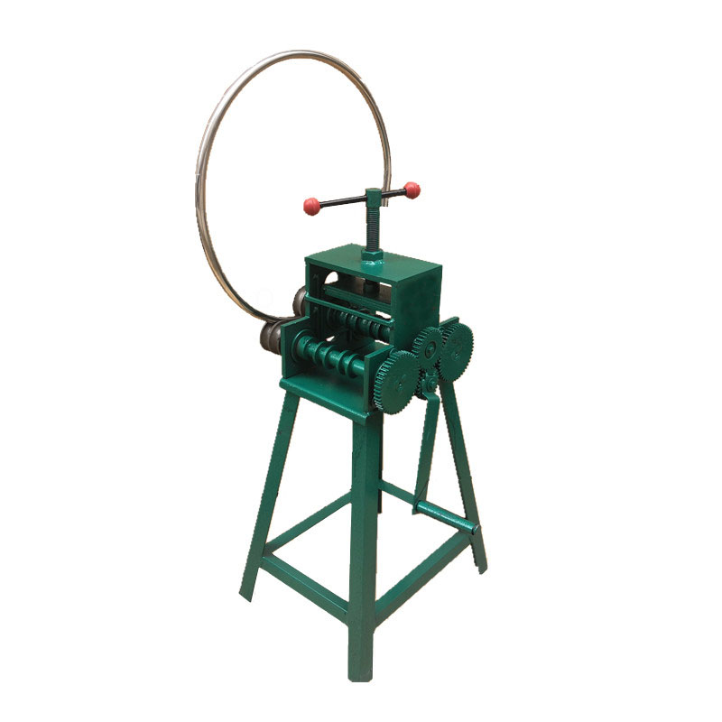 Hand-operated Tube Bender Multi-function Small Bending Device Arc Square Tube Manual Pipe-bending Machine