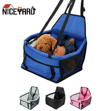 NICEYARD cestino per cani amaca pieghevole borsa per animali domestici borsa antiscivolo per seggiolino auto di sicurezza per cani gatti trasporto di viaggi