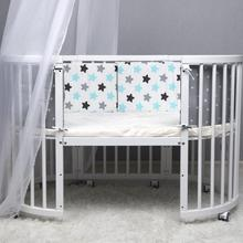 Get more info on the Cotton Baby Bed Crib Bumper Breathable Crib Bumper Pads Washable Padded Crib Liner Set For Baby Boys Girls Safe Bumper