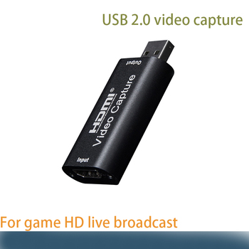 цена на Video Card Capture HDMI Video Capture Card Streaming VHS Board Capture USB 2.0 Cards catch Recorder Box for PS4 Game DVD Camera