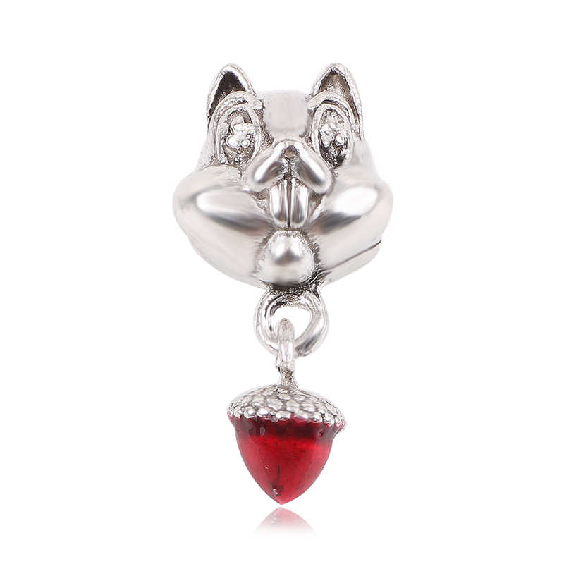 New Robot Best friend Star Moon Mickey Beads Fit Original Pandora Charm Bracelets & Bangles DIY Women Jewelry