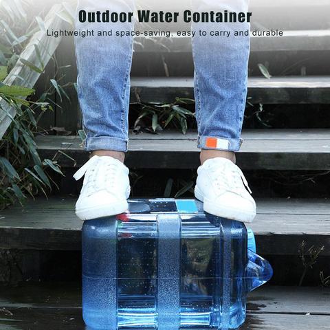 ar livre grande capacidade balde agua