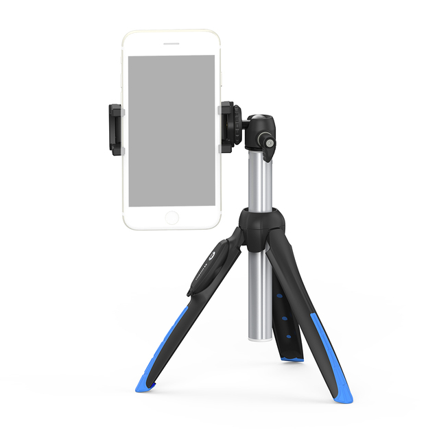 BENRO MK10P MK10ⅡPremium Smart Mini Tripod Selfie Stick Desktop Phone Stand MobiePhone Holder Bluetooth Remote Control 5