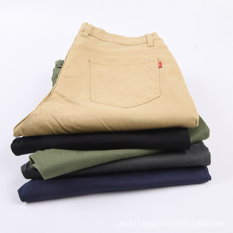 Spring And Summer New Style Casual Pants Men's Korean-style Fashion Loose Plus-sized Fat Brother Capri Casual Harem Pants Men's
