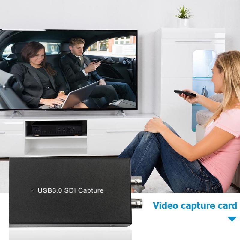 SDI Карта видеозахвата USB3.0 HD видео рекордер 1080P 60FPS устройство захвата игр