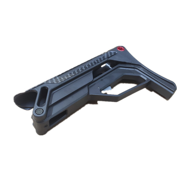 PDW XM-T02 Nylon Tactical Toy Gun Accessories Stock Gel Blaster Upgrade Extended Stock Upgrade Part Replacement Accessories 3