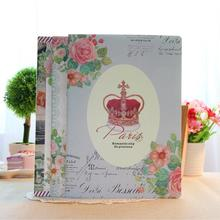 2pack/lot Romantic Paris notebook A5 Class notes Student office supplies