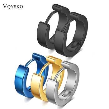 NIBA Stainless Steel Unique 4 12mm Hoop Earrings for Men Huggie Earrings.jpg 350x350 - NIBA Stainless Steel Unique 4*12mm Hoop Earrings for Men Huggie Earrings