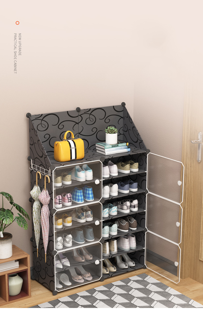 armoire a chaussures modulaire cadre en plastique et en acier armoire a chaussures modulaire organisateur a monter a monter support de rangement