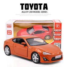 MAKEDA 1:36 Scale Diecasts Toyota 86 Car Model Toy Simulatio