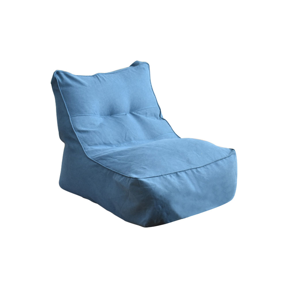 Pouf Solid Living Room Washable Home All Seasons Protective Pedal Slipcover Lazy Sofa Cover Lounger Seat Bean Bag Soft Bedroom