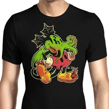 Mickthulhu Mouse Micky The Call Of Cthulhu Parody Black T-Shirt H. P. Lovecraft(China)