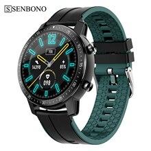 SENBONO reloj inteligente S30 IP68 para hombre y mujer, deportivo, resistente al agua, con Dial personalizado, recordatorio de llamadas, control del ritmo cardíaco y Bluetooth 5,0