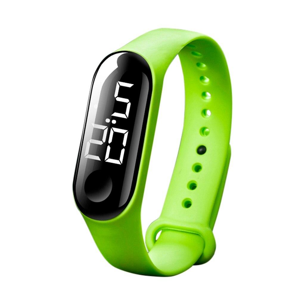 Donne degli uomini di Sport casual LED Orologi Digitali Orologio Sensore Luminoso Impermeabile orologio Da Polso montre femme homme Relogio Masculino