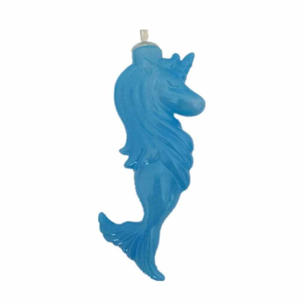 ICOCO Mermaid LED ทองแดงลวด Star Curtain String ไฟโคมไฟ Fairy สำหรับงานแต่งงานกลางแจ้งตกแต่งคริสต์มาสแบตเตอรี่
