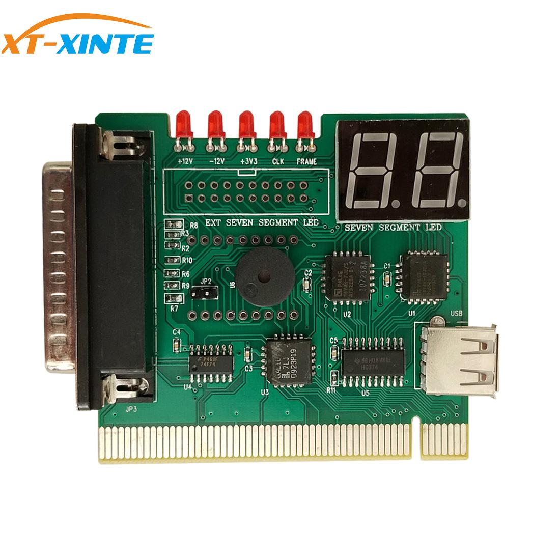 XT-XINTE USB PCI PC Motherboard Notebook Laptop Analyzer Diagnostic Analyzer POST Card With USB Cable For Notebook PC