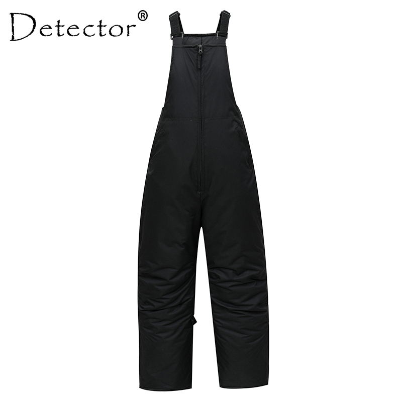 Detector Men Warm Winter Ski Pants Breathable Men's Waterproof Windproof Male Snowboard Bib Adult Suspenders Snow Pants Overalls