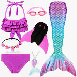 Mermaid Swimsuits Fl...