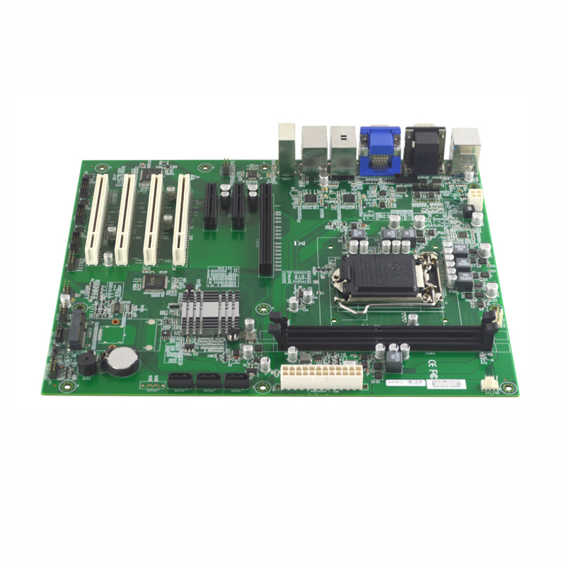 EAMB-1580 6/7 Gen i3/i5/i7 Промышленная материнская плата ddr4 LGA1151 14 * USB 3 * PCI 3 * PCIE