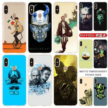 soft Silicone Phone Case for Xiaomi Redmi Note 9 8 7 6 5 4 K20 Pro 8A 7A 6A S2 5A Plus 4X Breaking Bad Chemistry Walte Fundas image