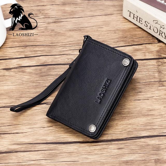 Short Genuine leather purse