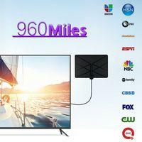 טלוויזיה אנטנה 960 מיילס טלוויזיה אנטנה פנימית 1080p טלוויזיה 4K אנטנה Amplified דיגיטלי HDTV (3)