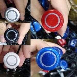 Image 5 - Автомобильная система парктроника с 6 датчиками и дисплеем, Универсальный светодиодный радар детектор для парковки с красным голосовым управлением