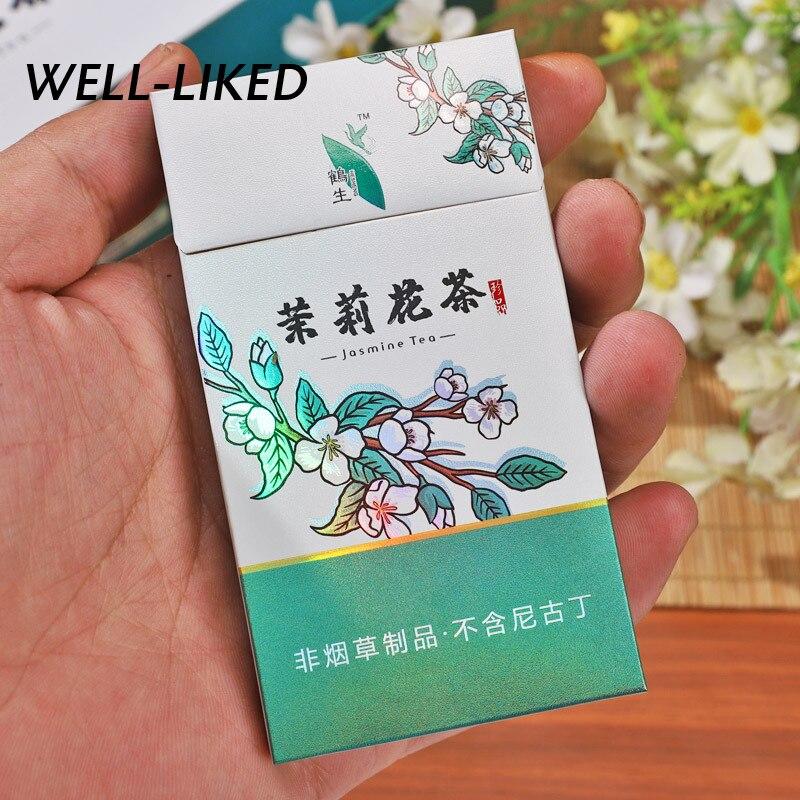 1 Pack Fine Jasmine Tea Smoking Accessories Ladies & Men Cigarette Healthy Smoking Cigarette Quit Smoking New Style