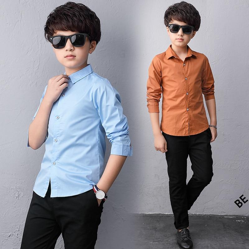 Childrens Fashion Long-Sleeve Shirts