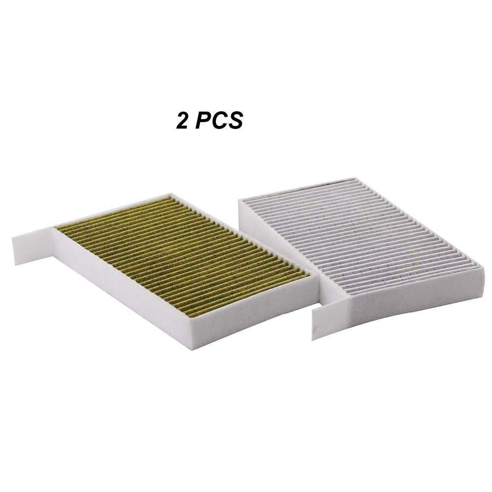 2 pcs Toyota Cabin A//C Air Filter Anti-Pollen 87139-07010 87139-YZZ10