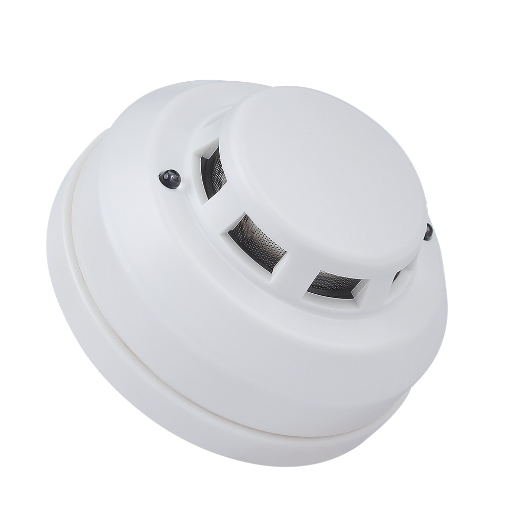 New Screws Wired Networking Sensor Smoke Detector For Host Components Smoke Detector Alarm Smoke Detector Fire Smoke Alarm