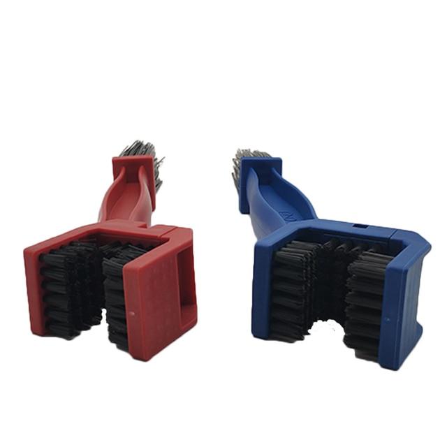 Универсальный инструмент для чистки мотоциклов зубчатая щетка