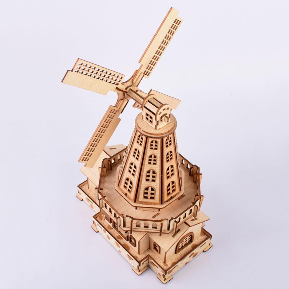 WINDMILL Woodcraft Construction Kit High Quality
