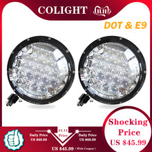 CO LIGHT 5D 7 นิ้ว LED ไฟหน้า 105W LED DRL Hi/LOW H4 H13 อัตโนมัติ Daytime Running LIGHT สำหรับ Suzuki SAMURAI Lada Niva 4x4 Uaz JEEP(China)