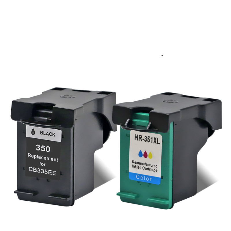 Ink Cartridge For 350 351 350XL <font><b>351XL</b></font> HP350 HP350XL Photosmart C4250 C4270 C4272 C4273 C4275 C4280 C4283 C4285 Inkjet Printer image
