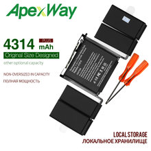 ApexWay 11.41V 4314mah New A1819 Laptop Battery for Apple Macbook Pro 13'' Touch Bar A1706 2016year With Tools(China)
